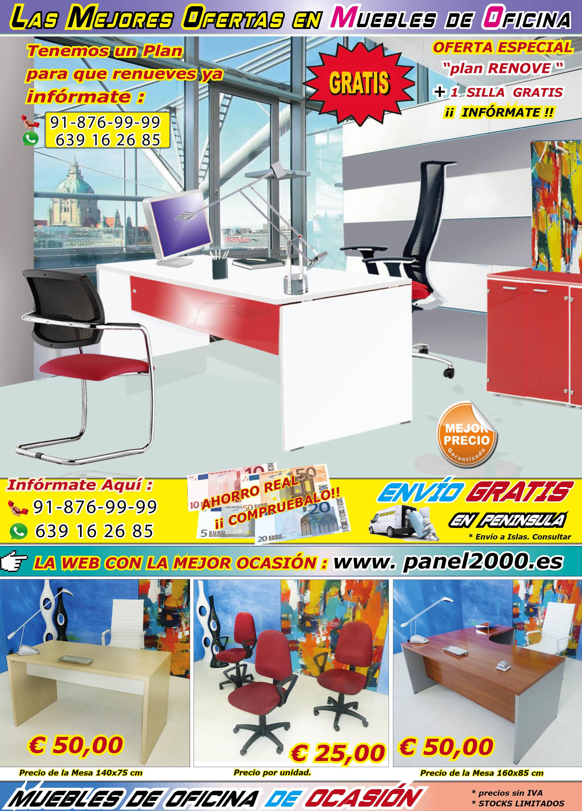 La mejor ocasi n en muebles de oficina wwwpanel2000 for Muebles oficina ocasion